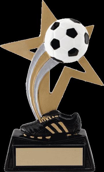 Big Star Soccer Resin